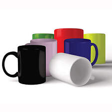 Colour Laser Mugs - Yellow - Green - Red - Pink - Black - Blue