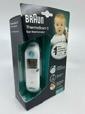 Braun ThermoScan 5 Digital Ear Thermometer - IRT6020US - White - Free Shipping