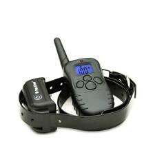 Dogs Collar Training Waterproof Rechargeable Electronic Vibration Shock Beep