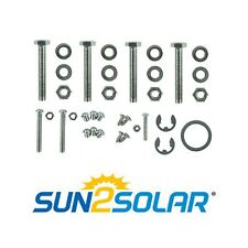 Sun2Solar Frame Assembly Hardware Kit for Swimming Pool Reel Systems