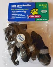 Set of 4 Top Paw Soft Sole Dog Booties Pet Protector Walking Shoes Boots XXS-S
