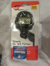 SportLine Giant Sport Timer Stopwatch Whistle and extra Fresh Battery included