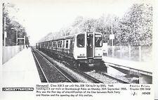 Train Postcard - Merseyrail - 3 Car Unit No.508 - 104 Built by BREL York  U87