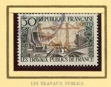 STAMP / TIMBRE FRANCE OBLITERE N° 1114  TRAVAUX PUBLICS