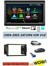 2004-2005 SATURN ION, VUE Stereo Kit, Apple CarPlay Android Auto TOUCHSCREEN