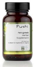 Fushi Organico 500mg Semi Di Fieno Greco Pillole Veg 60 Capsule
