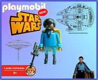 PLAYMOBIL Star Wars Lando Calrissian 100% Playmobil NEW - No Box Sin Caja