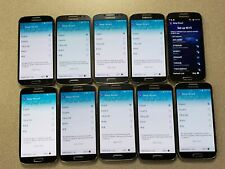LOT OF 10 Samsung Galaxy S4 SCH-I545 - 16GB - Black Mist (Verizon) Smartphone 4G
