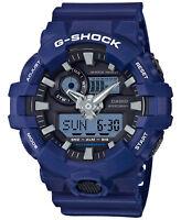 Casio G-SHOCK GA700-2A Blue Super Illuminator Analog Digital 200m Men's Watch