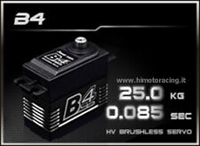 SERVO DIGITALE 25Kg B4 HIGH ALTO PROFILO BRUSHLESS POWER HD INGRANAGGI TITANIO
