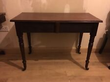 Antique William IV Mahogany Console Hall Breakfast Table Side Occasional Desk