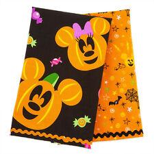 2 Disney Store Mickey And Minnie Mouse Pumpkin Halloween Kitchen Tea Towels