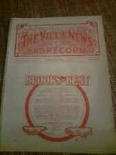 More details for 1909 aston villa v wolves reserves birmingham senior cup final