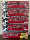 Gambler Regular Full Flavor King Size RYO Cigarette Tubes 5 Boxes 1000 Tubes