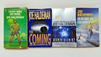 4 Book Lot JOE HALDEMAN Science Fiction Sci Fi SF