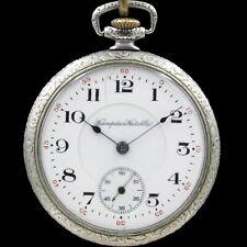 1912 HAMPDEN 15 Ruby Jewel Mechanical Pocket Watch 12s Grade 306 Antique USA