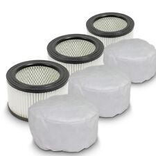 3x Ersatzfilter für Aschesauger Rußsauger Kaminsauger Ersatz Filter Vließfilter