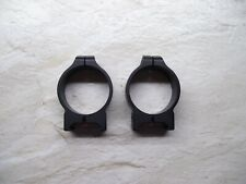 Warne 34mm Low Maxima Permanent-Attachable Rings Matte