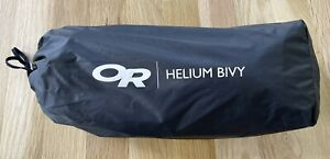 Very Nice Outdoor Research Helium Emergency Bivy, Ultralight, Used For 1 Trip