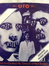 UFO: ONLY YOU CAN ROCK ME + 2  1978 33rpm  3 Track single Chrysalis CHS2241  p/s