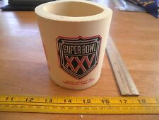 1991 Super Bowl XXV drink foam cozy Florida NFL