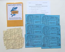 Teacher Made Literacy Center Education Learning Resource Game Silent Letters