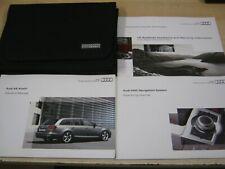 AUDI A6  AVANT -ESTATE 2008-2012 OWNERS MANUAL HANDBOOK, SAT NAV MMI ,REFW6
