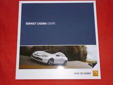 RENAULT Laguna Coupe TCe 170 - V6 dCi 240 Prospekt von 2012
