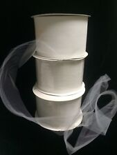 "White Tulle Roll 4"" X 750'"