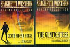 SPAGHETTI WESTERN: Death Rides & Gunfighters  NEW 2 DVD