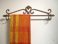 Handtuchhalter Handtuchstange Badezimmer Schmiedeeisen braun Wandhandtuchhalter