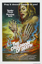 The cauldron of death Horror Chris Mitchum movie poster print