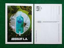 Pubblicità Advertising Cartolina vodka (Italy) ABSOLUT L.A. LOS ANGELES n 20/505