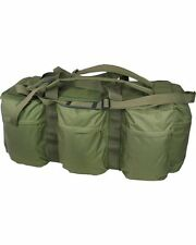 Green Tactical Assault Holdall 100L Tool Kit Bag Deployment Military Fishing DIY