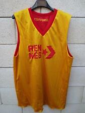Maillot basket BBA RENNES CONVERSE shirt réversible L