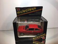 MEBETOYS 6717 ALFA ROMEO ALFASUD SPRINT - RED 1:25 RARE - GOOD CONDITION IN BOX