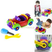 Kids Children Baby Boy Disassembly Assembly Car Educational Vehicle Toys Gift