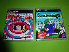 Empty Replacement Cases! Lemmings + MR. DRILLER  PLAYSTATION PS1 PS2 PS3