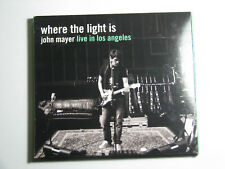 Where the Light Is John Mayer Live in Los Angeles CD 2008 Slipcase Rock