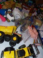 Big Lot Of toys action Figures  Vtg/ Now Junk Drawer HOT WHEELS DIECAST #9 HUGE!
