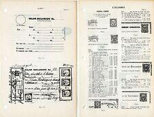 Higgins & Gage World Postal Stationery Catalog 56 COLOMBIA pagine 17