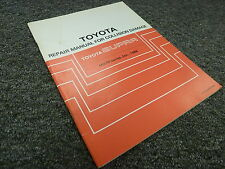 1990 1991 1992 Toyota Supra Body Collision Shop Service Repair Manual Turbo