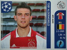 Panini 246 Toby Alderweireld Ajax Amsterdam UEFA CL 2011/12