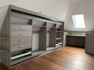 Bespoke Design Fitted Internal Wardrobe Storage.  Made To Measure