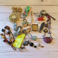 Junk Drawer Lot Vintage and Modern Broken Jewelry Misc