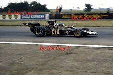 RONNIE PETERSON LOTUS JPS 72E di British Grand Prix 1973 fotografia 13