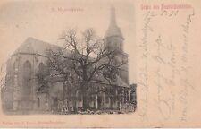 AK Neuhaldensleben / Haldensleben   Marienkirche 1901