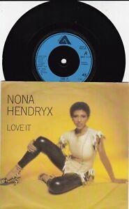 "Nona Hendryx - Love It  7"" Vinyl 45  ARIST 313 70s FUNKY SOUL DISCO 1979"