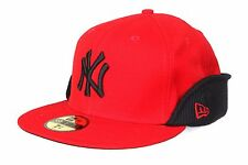 NEW ERA NEW YORK YANKEES 59FIFTY CAP RED/BLACK SIZE 7+1/2 (59.6cm)