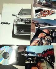 Pressemappe SAAB aus 2001 mit Bildern Postkarte CD-ROM Cabrio Convertible 9-3